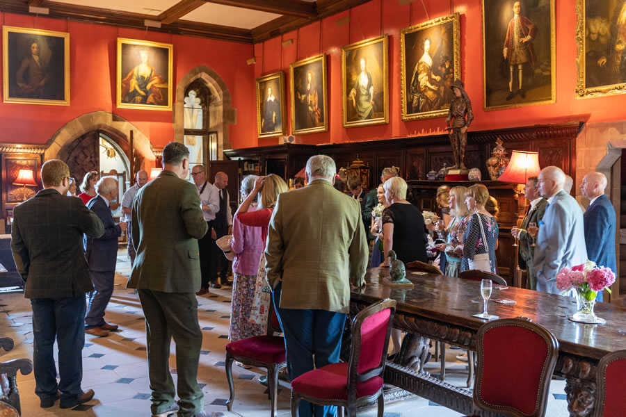 Corporate events at Muncaster Castle