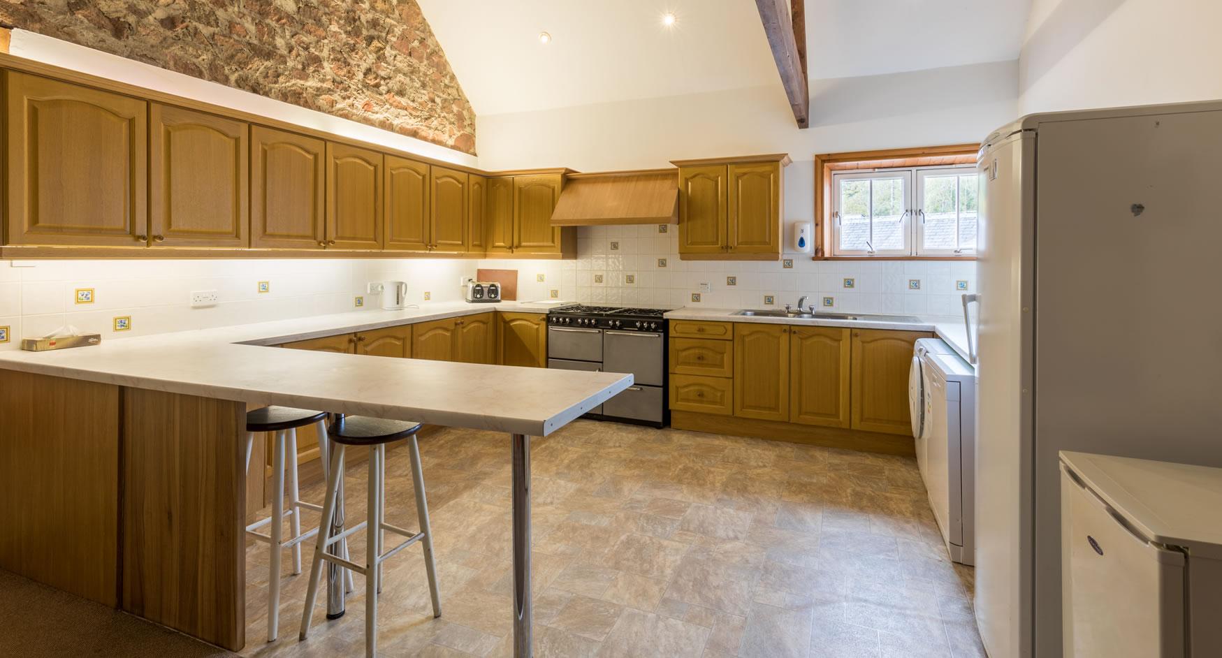 Coachman's Quarters Kitchen