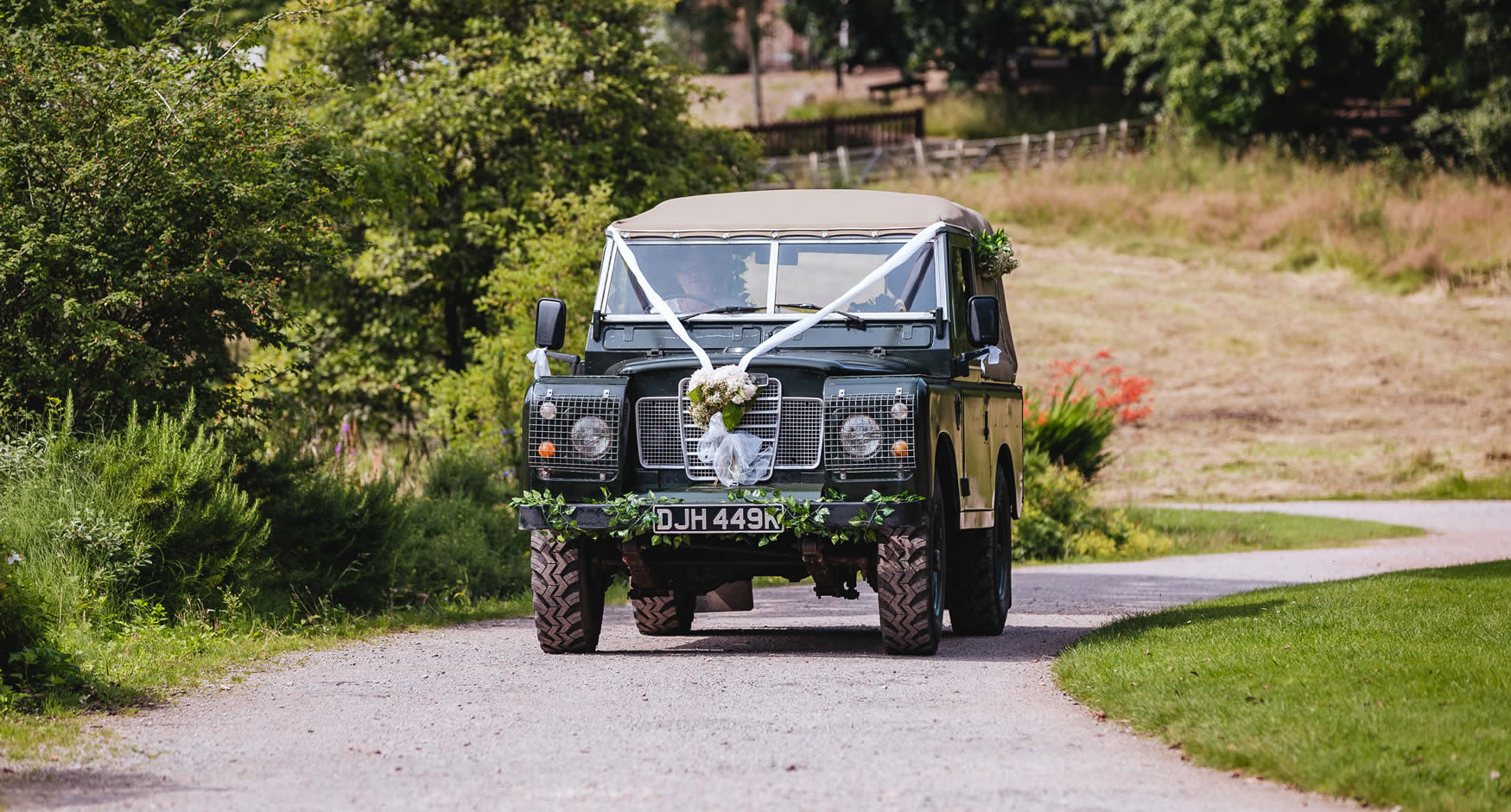 Arrive in style to your Lake District wedding