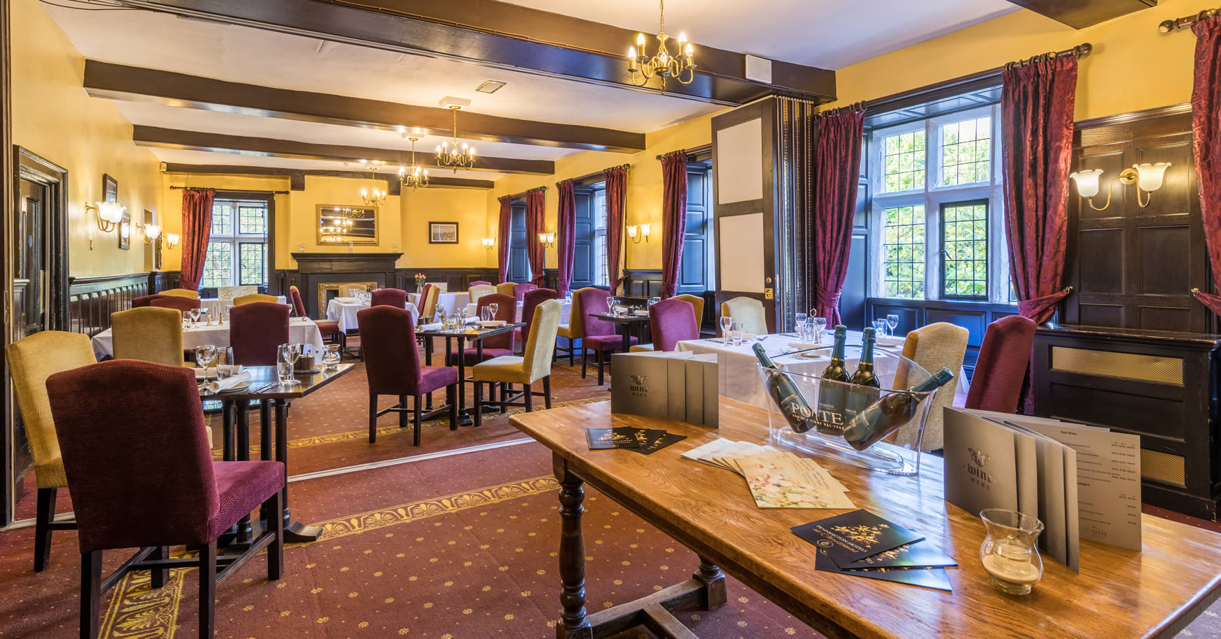 Dining at Sella Park Country House Hotel