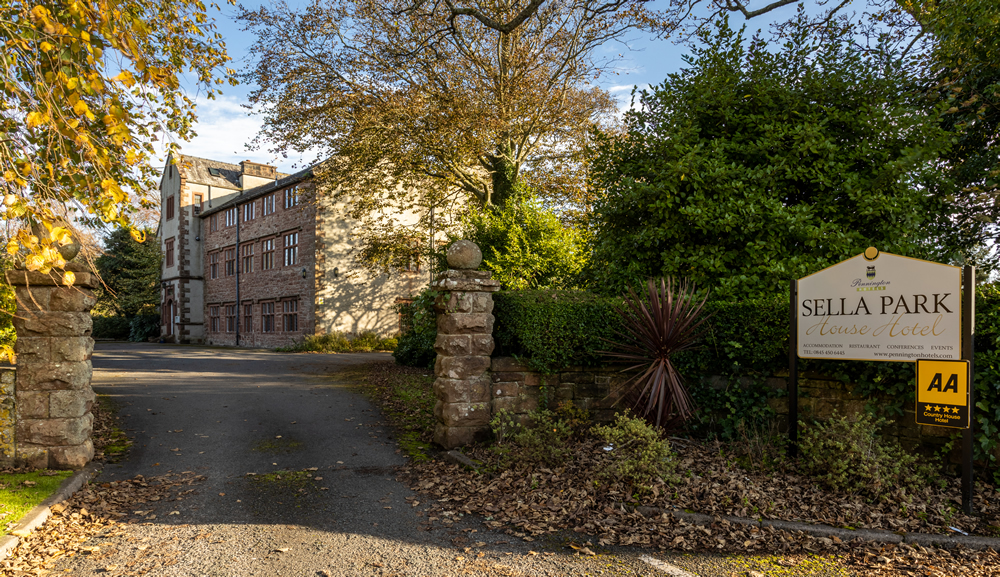 Sella Park Country House Hotel in Calder Bridge